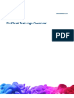 ProFlex4 Trainings Overview
