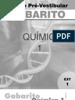 Química - Pré-Vestibular Dom Bosco - gab-qui1-ex1