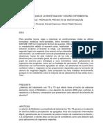 PROYECTO METODOLOGIA DE L INVESTIGACION Y DISEÑO EXPERIMENTAL.docx