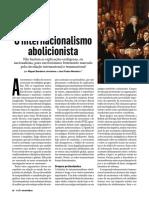 O internacionalismo abolicionista - Miguel Bandeira Jerónimo e José Pedro Monteiro