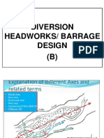 Chapter 5 Weir and Barrages b) Design of Surface & Sub Surface Flow.ppt