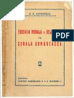 G G Antonescu Educatia morala si religioasa.pdf