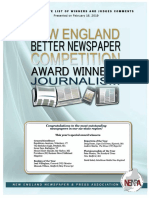 NENPA Editorial Awards With Judges Comments 2019 Convention