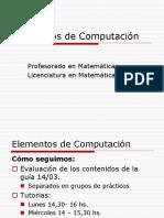 Elementos de Computación-2018