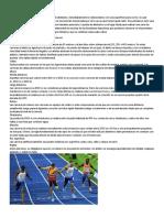 Atletismo y sus disciplinas