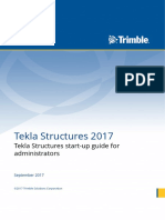 Tekla Structures Start-up Guide for Administrators
