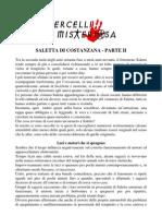 SALETTA DI COSTANZANA PARTE II