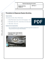 9 Engine Smoking Diagnosis