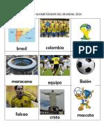 Glosario Alfabetizador Del Mundial 2014