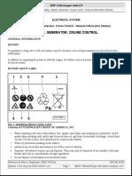 VW Jetta 2.5L Sistema de Carga y Bateria,Informacion Completo