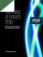 The Pulse of Fintech 2018 KPMG