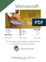 Máscara de zorro.pdf