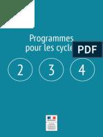 Programmes EMMC CYCLES 2-3-4