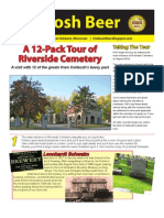 Oshkosh Beer Tour of Riverside Cemetery Tour