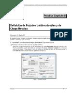 Tricalc Práctica 8 Definición de Forjados Unidireccionales y de Chapa Metálica