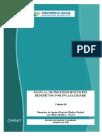 MANUAL DE PROCEDIMENTOS EM BENEFÍCIOS POR INCAPACIDADE VOLUME III CLÍNICA MÉDICA.pdf