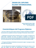 PowerPoint Diploma Del Batxillerat Internacional 23-02-2019