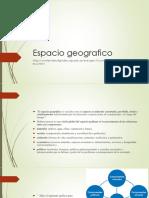 Espacio Geografico
