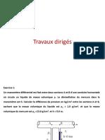 TD Hydraulique