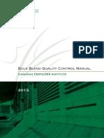 Bulk Blend Quality Control Manual