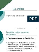 Fundición, moldeo y procesos relacionados