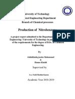 Production of  Nitrobenzene.pdf