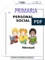 Personal Social 5º
