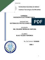 Sistemas de protecciones eléctricas. UNIDAD 3