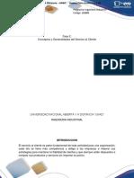 Fase 2 Conceptos y Generalidades Del Servicio Al Cliente