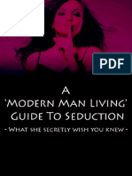 18802401 a Modern Man Living Guide to Seduction
