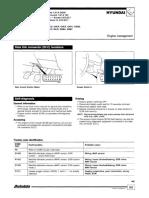 HYUNDAI Autodata Diagnóstico de Códigos de Fallas Autodata 2004