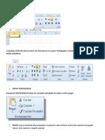 Pestañas de Excel