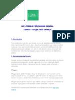 Diplomado Periodismo Digital, Tema 6