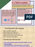 Infografia fusión y fisión Nuclear