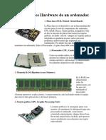 Componentes Hardware de Un Ordenador