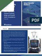 West Seattle and Ballard Visualization Booklet