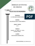 proyecto de 2 puentes en Tuxtla Gutierrez