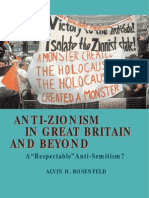 Anti-Zionism in Great Britain and Beyond