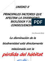 Power Point 5 Semana 6.- Factores Que Afectan La Diversidad Biológica I