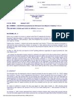 Calderon v. Roxas, G.R. No. 185595, January 9, 2013
