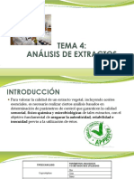4.0 Analisis de Extractos