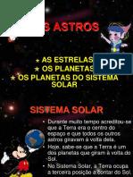 OS ASTROS Definições