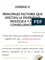 Power Point 6 Semana 7.- Factores Que Afectan La Diversidad Biológica II