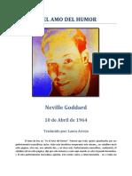 Sé el amo del humor - Neville Goddard