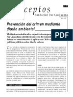 Lectura Prevencion Del Crimen Mediante Disño Ambiental