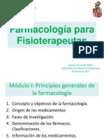 1.- Principios Generales de La Farmacología
