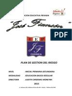 Plan Gestion Riesgo Fianson 2015