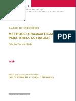 ROBOREDO, A. - Methodo Grammatical para Todas as Línguas.pdf