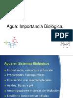 Agua Importancia Biologica