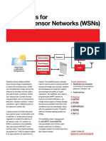 TI Solutions for Wireless Sensor Networks (WSNs)